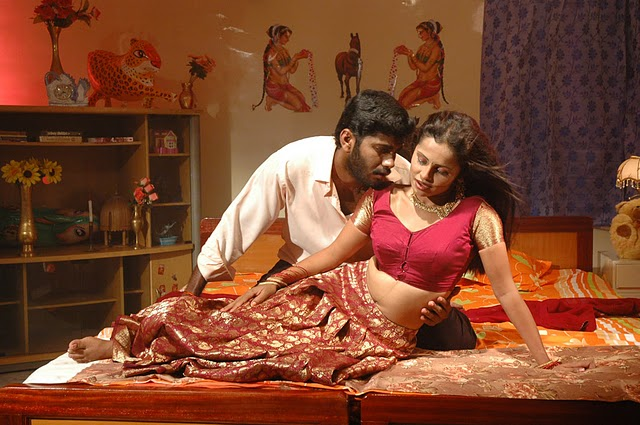 Tamil Movie Shankar Hot Bedroom Scene Gallery