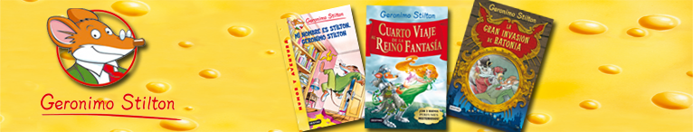 SERIE GERONIMO STILTON