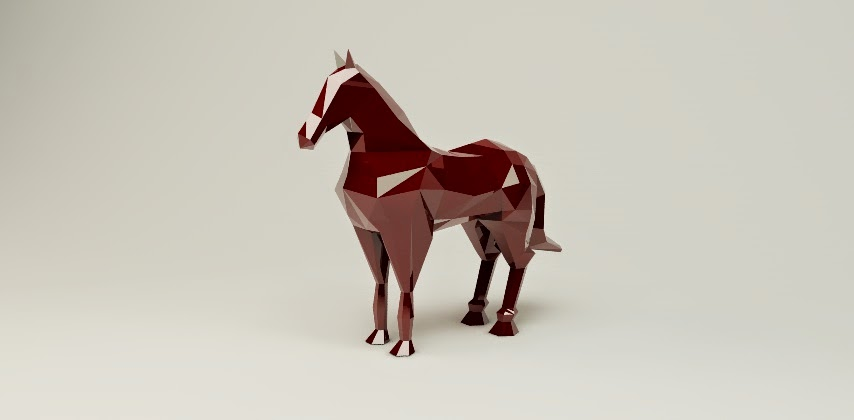 Please market advice free low poly horse stl inside for Negative show pool horse racing