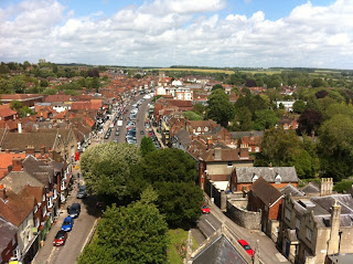Marlborough from the old church tower