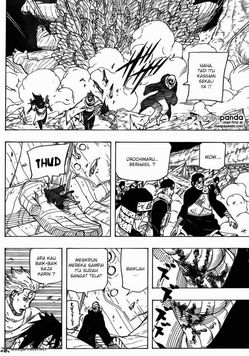 read naruto manga chapter 663 online