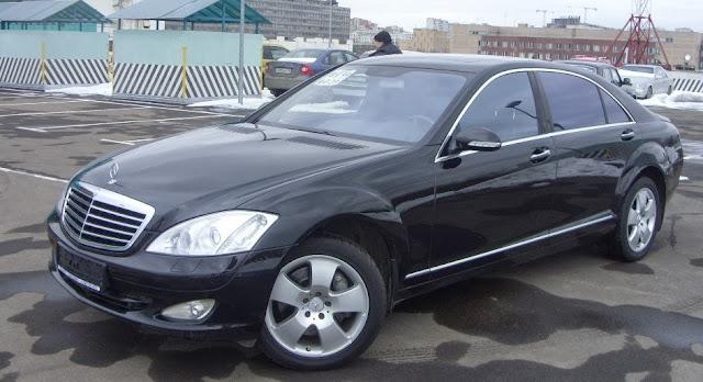 Cho thuê xe Mercedes S500 Vip