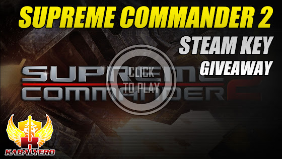 STEAM Game Giveaway 2015, Supreme Commander 2 STEAM Key Giveaway