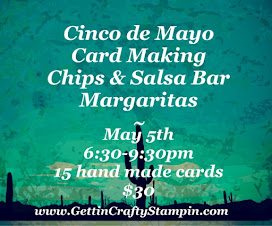 Cinco de Mayo Card Making Class & Retiring Party