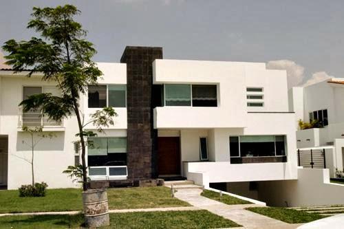 Fachadas minimalistas marzo 2014 for Casas minimalistas modernas con cochera subterranea