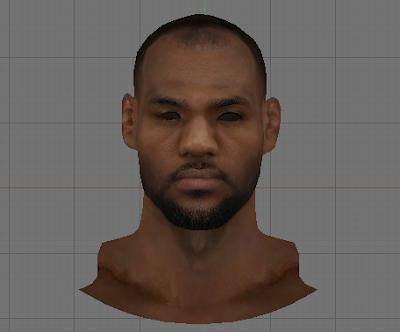 NBA 2K14 LeBron James Face Mod
