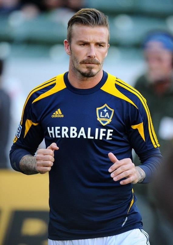 David beckham soccer galaxy 2012