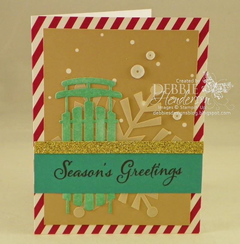 Debbies Designs Watercolor Winter Simply Created Card Kit