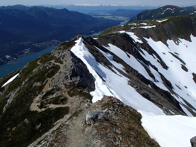 Trail between Gastineau and Mt Roberts