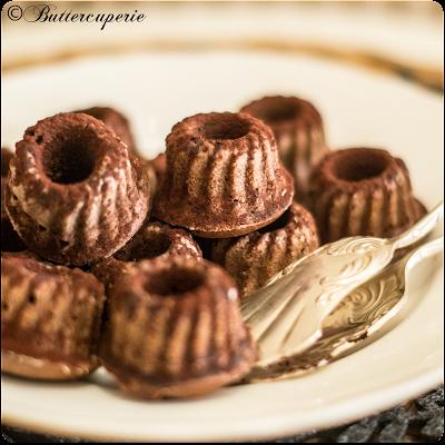 Schokoladen-Rotwein-Gugl