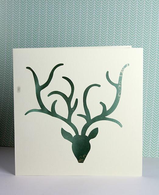 joulukortti, korttiaskartelu, itse tehty joulukortti, jouluaskartelu
