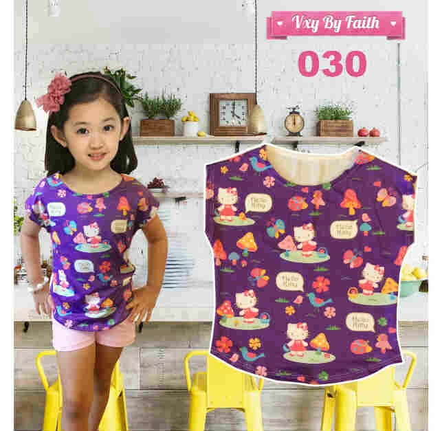 Tee Hello Kitty #030.
