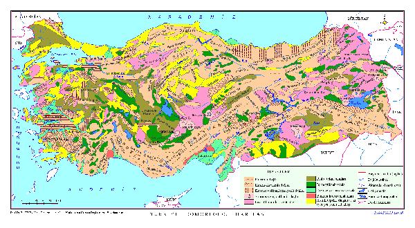 T�rkiye Jeomorfoloji Haritas�