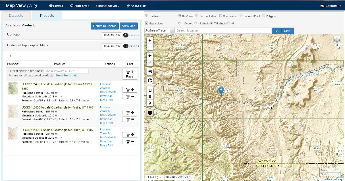 Plans and Pricing for Mapline Online Mapping Software