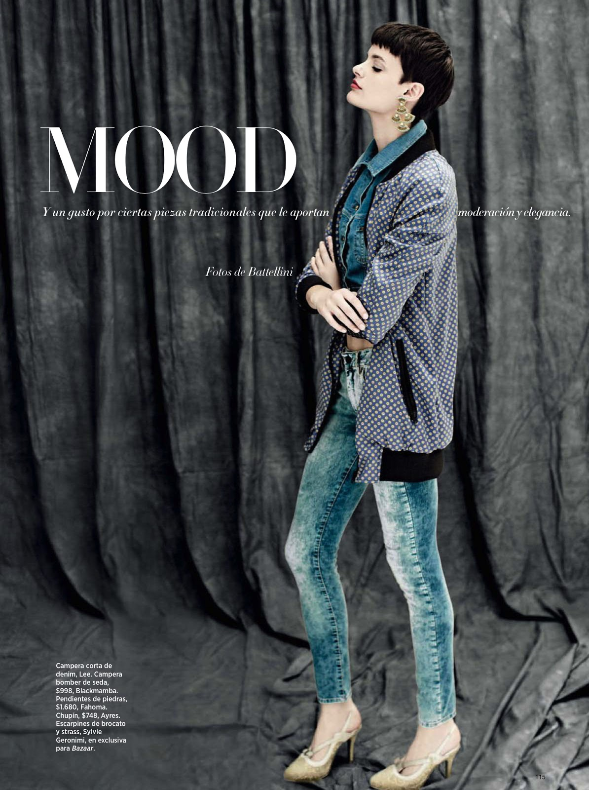 Blue mood pau bertolini by battellini for harper 39 s bazaar for Bazaar argentina