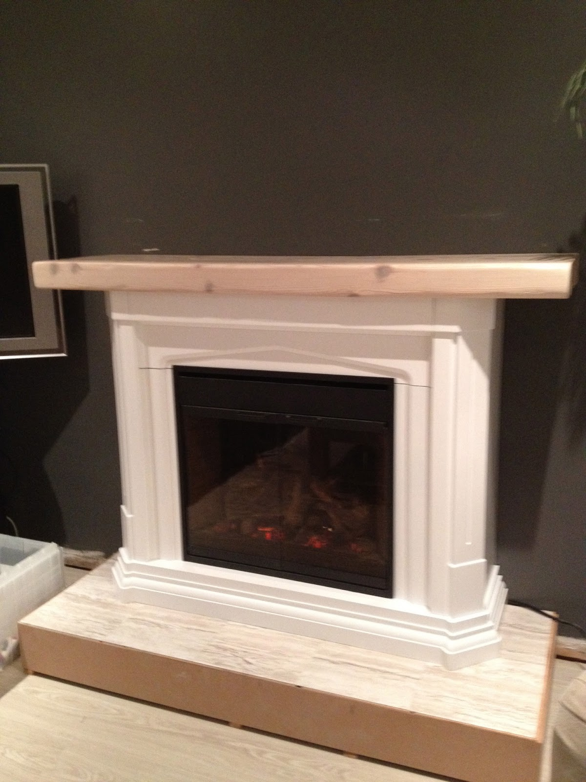 Zen Shmen DIY Fireplace Makeover
