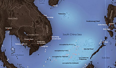 Taiwan Bangun Pelabuhan Laut di Wilayah Sengketa Laut Cina Selatan