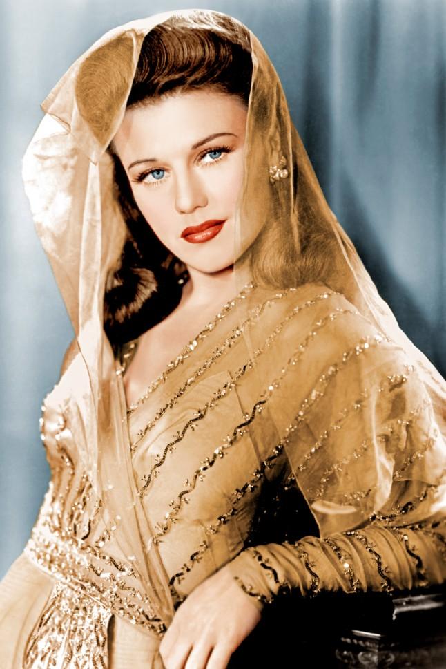 Ginger Rogers 1942 official portrait taken for Paramount Studios