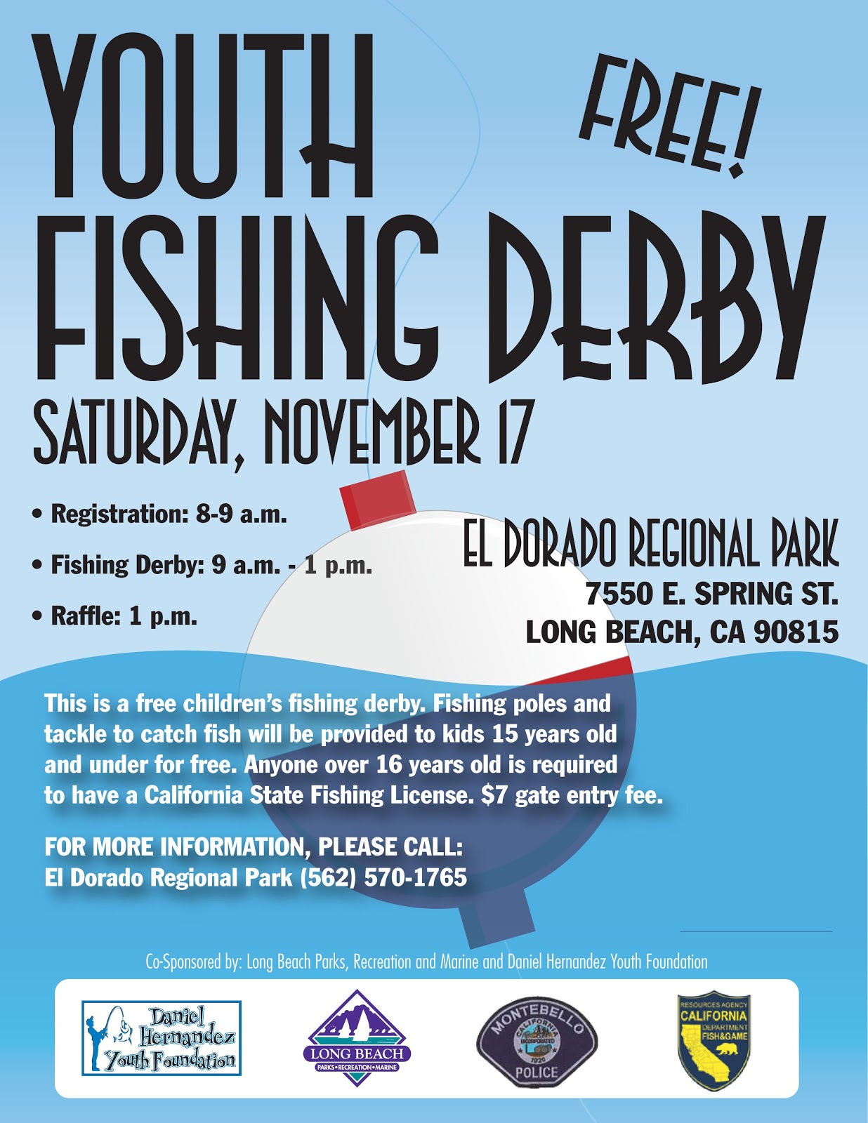 Dan 39 s journal free fishing seminar and kids event the for Youth fishing tournaments near me