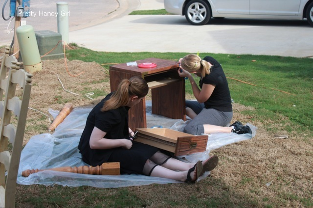 World's Longest Yard Sale - revamping the junk for the habitat house