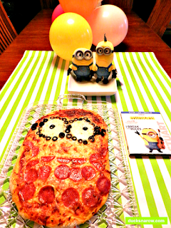 kids parties, family fun, the Minion movie, homemade pizza