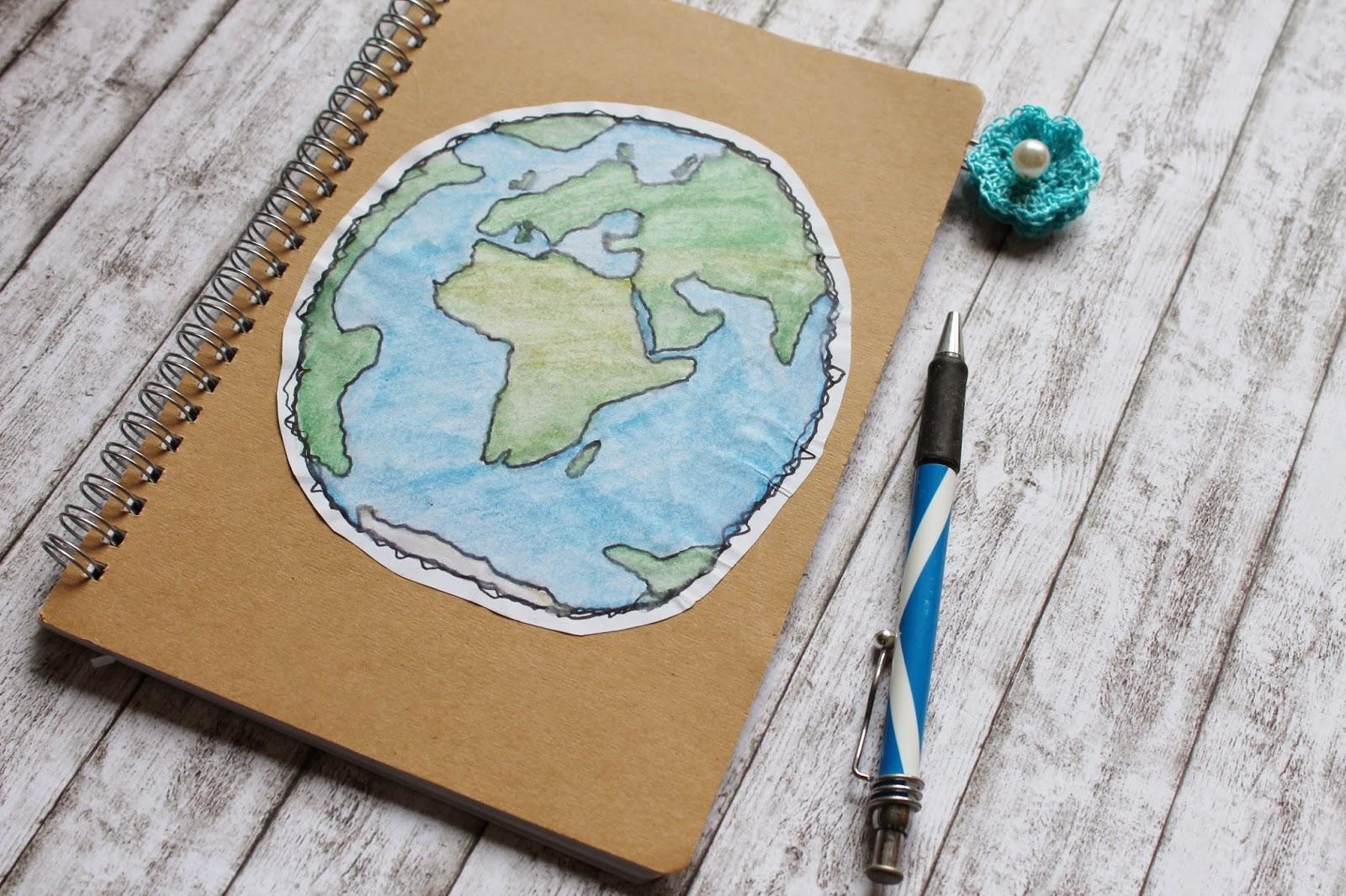DIY Kladde Travel Notebook