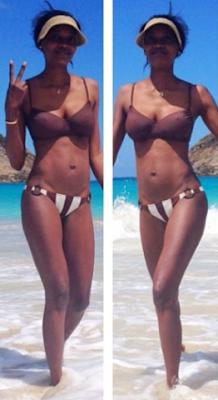 oluchi orlandi in bikini