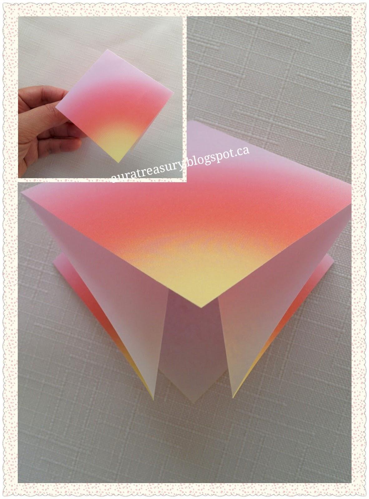 Aura Treasury Diy Valentines Origami Flowers
