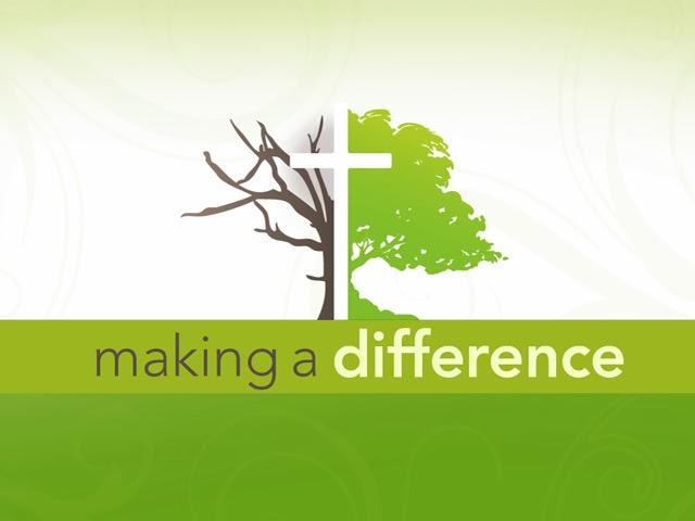 Making a Difference (Membuat Perbedaan)