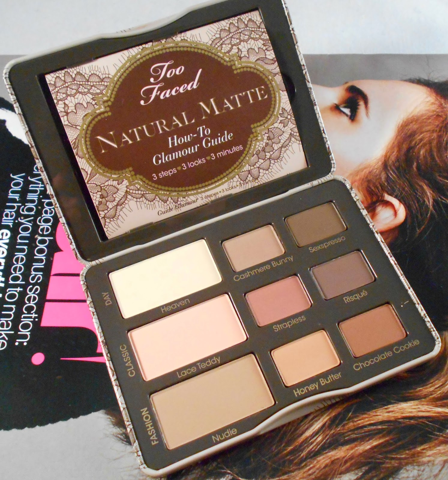 Makeup Fashion Royalty Review Too Faced Natural Matte Eye
