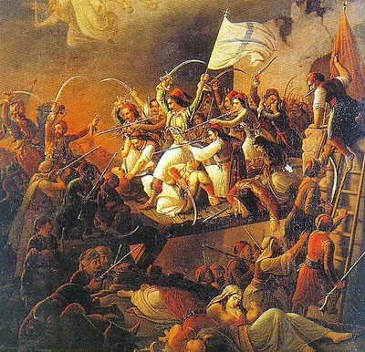 salida de messolonghi, theodoros vryzakis, independencia de grecia