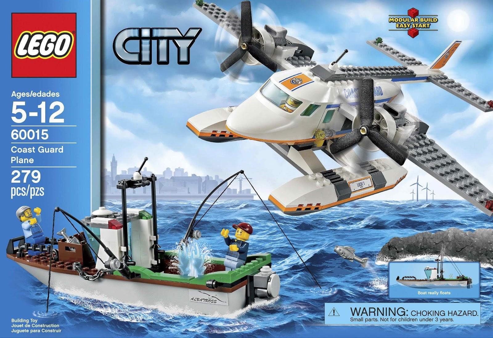 Onetwobrick Com Set Database Lego 60015 Coast Guard Plane