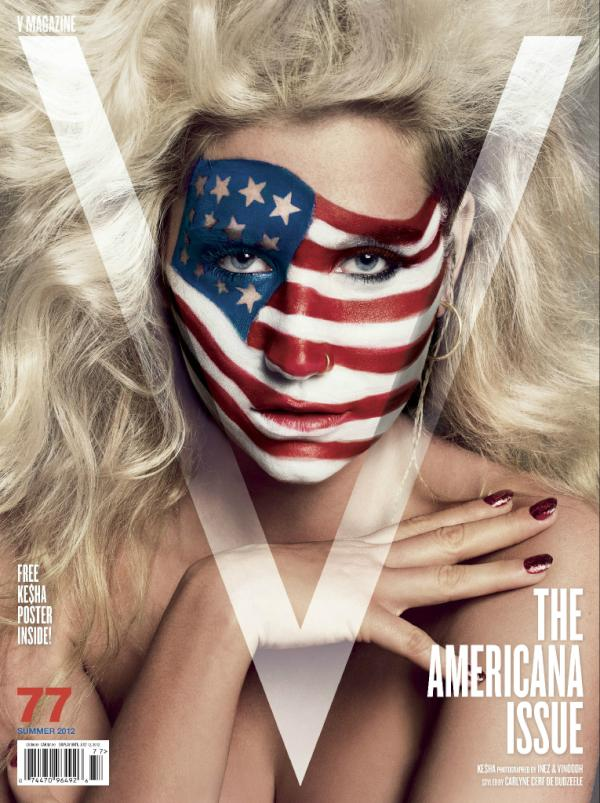 V Magazine #77 Summer 2012: Ke$ha by Inez & Vinoodh