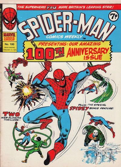 Spider-Man Comics Weekly #100