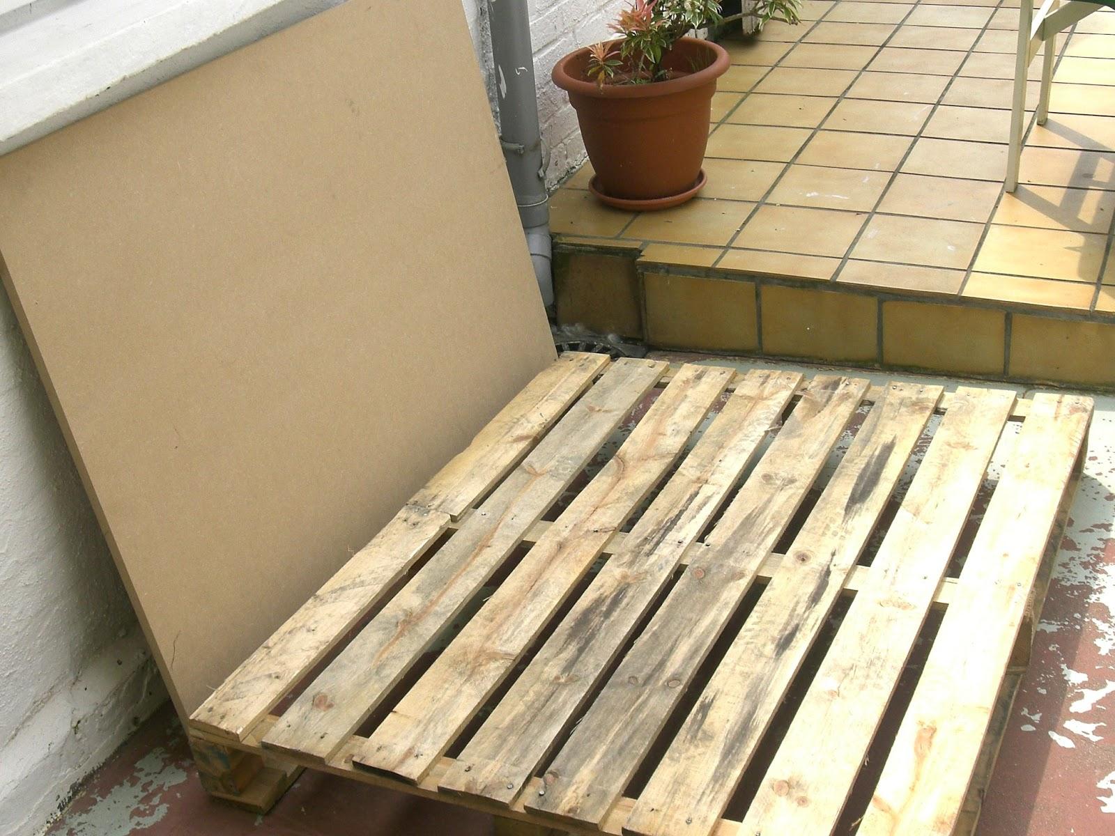 Gabulle in wonderland transformer une palette en table basse - Construire une table avec des palettes ...