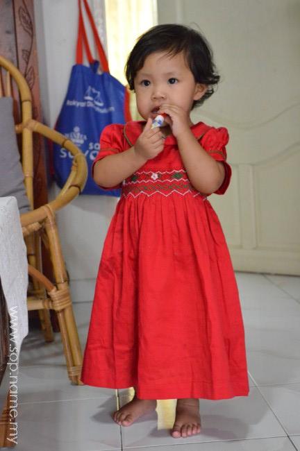 Sambutan birthday Auni dan Ramadhan
