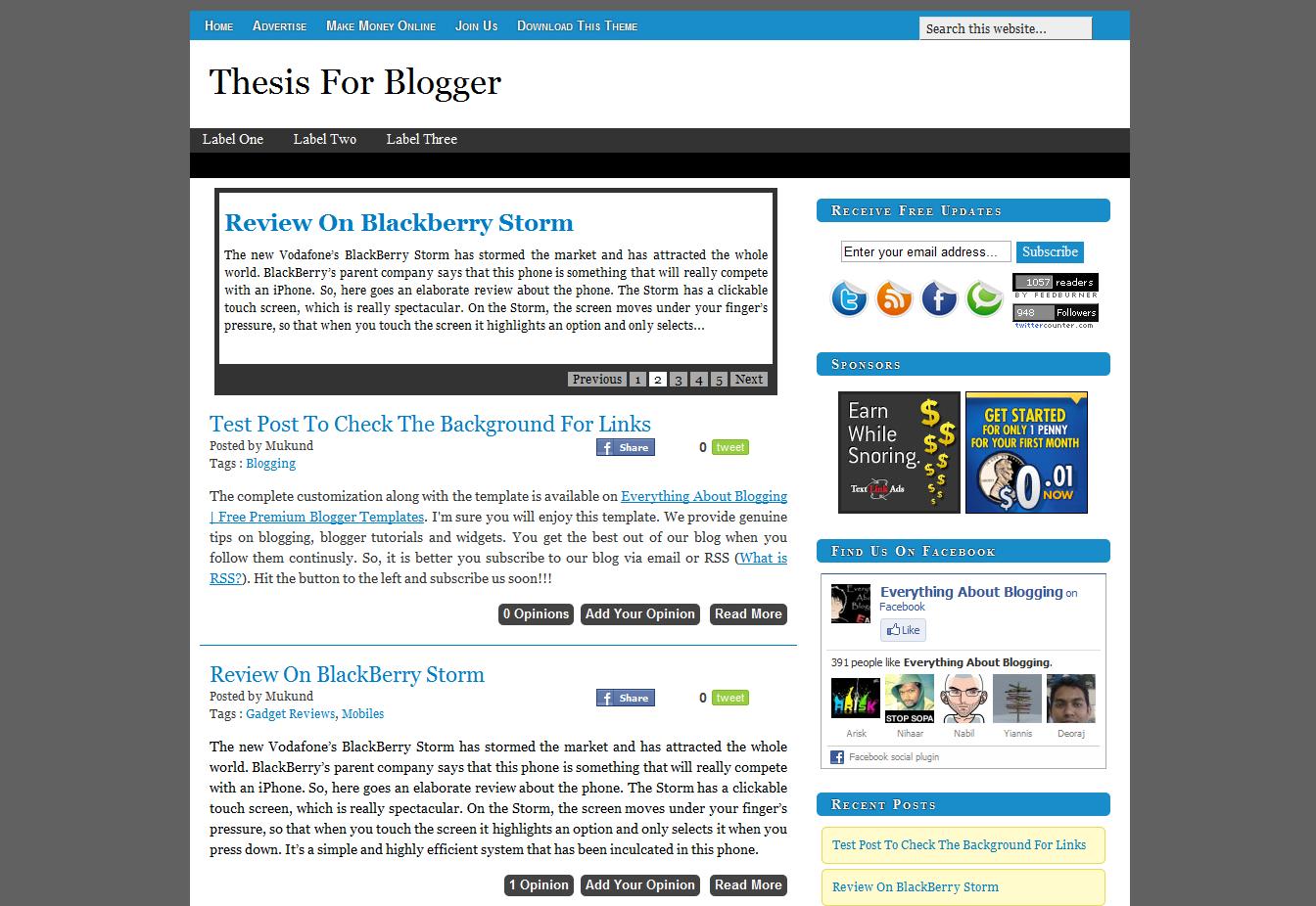 free html blog templates - shout me aloud free premium blogger template helper blogger