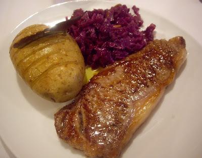 Harinaygasolina menu para invitar entrecot angus con - Como cocinar un entrecot ...