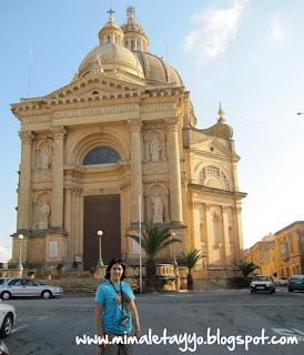 La Rotunda de Xewkija, Gozo, Malta