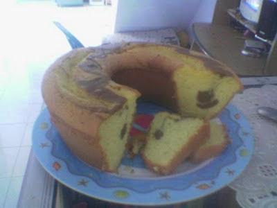 RESEP SPONGE CAKE SEDERHANA atau ROTI BOLU