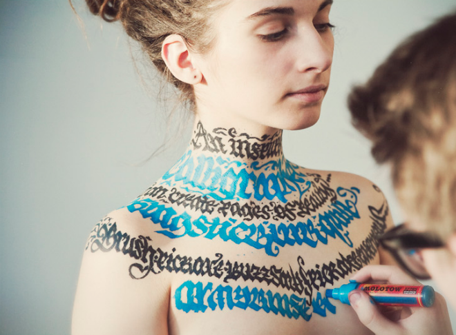 Typography on Girls