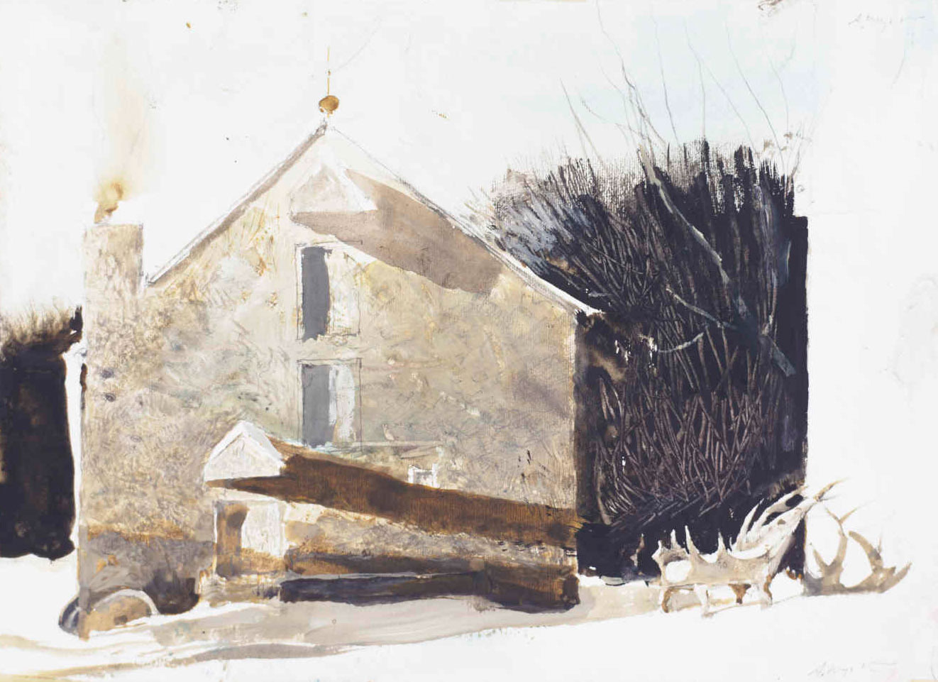 andrew wyeth It takes a very long time to get to know andrew wyeth as a man and even longer to know him as an artist he's a cover-up kind of guy in life and in art.