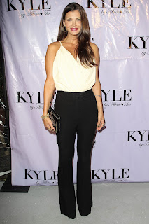 Ali Landry hot in black pants