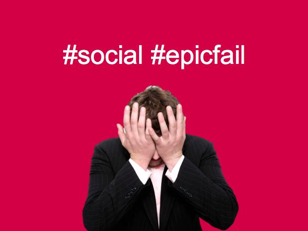 Social epic fail