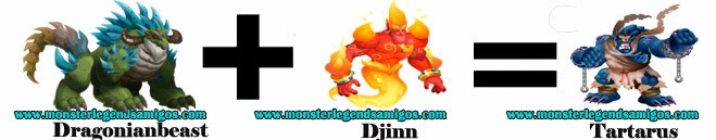 como obtener el monster tartarus en monster legends formula 3