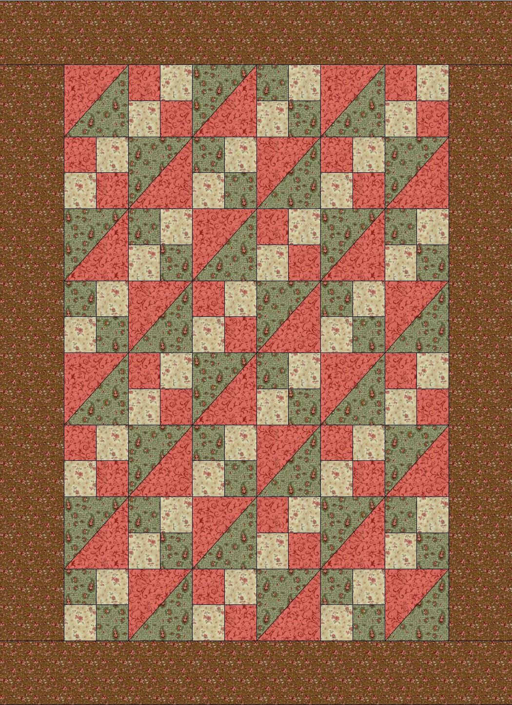 Quilt Patterns For Underground Railroad : Chock-A-Block Quilt Blocks: Underground Railroad