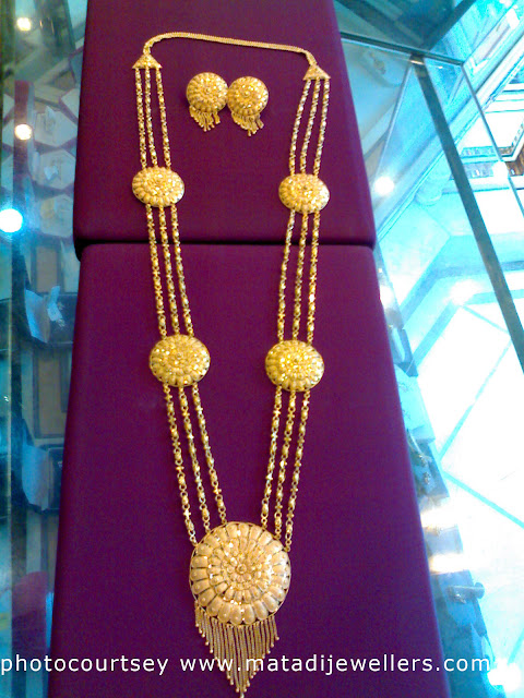 sita haar gold necklace