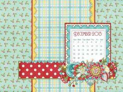 October 2013 desktop calendar sample
