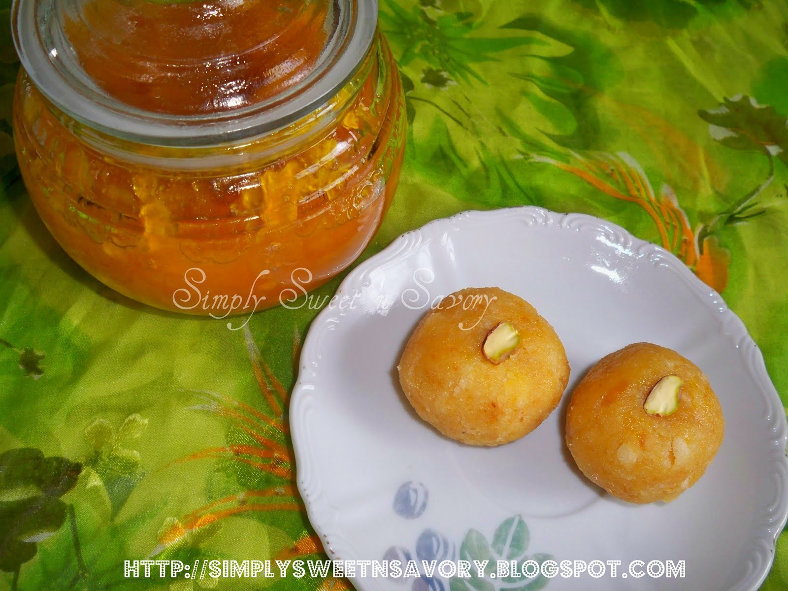 Mango Cake Balls