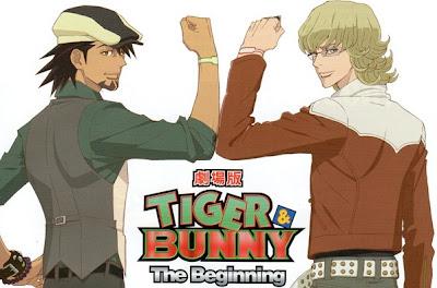 Se confirma el estreno del segundo largometraje de Tiger & Bunny para 2013
